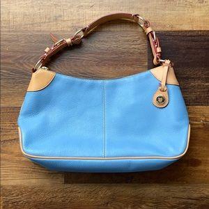 Blue Dooney and Bourke handbag